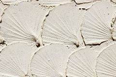 Background of the cement wall is plaster rough style Royalty Free Stock Photo