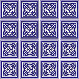 background ceramic mexican tiles 图库摄影
