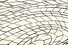 Background of ceramic mosaic on the wall Royalty Free Stock Images