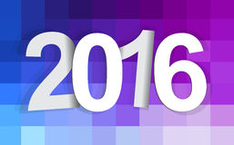 2016 background. 2015-2016 change represents the new year 2016. New year 2016 Text Design stock illustration