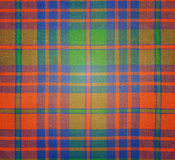 Background checkered cloth Royalty Free Stock Images