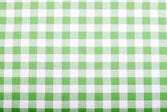 Background checkered cloth kitchen towels Stock Photos
