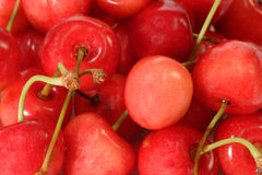 Background of Cherries Stock Photos