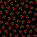 Background with cherry Stock Image