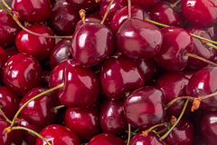 Background cherry closeup Stock Images