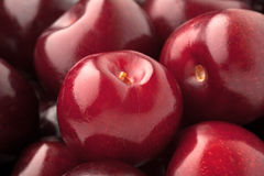 Background of a  cherry Royalty Free Stock Photos