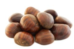 Background of chestnut Royalty Free Stock Photography