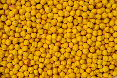 Background of chick peas Royalty Free Stock Images