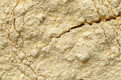 Background of chickpea flour. Background of chickpea flour from above stock photo