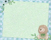 Background for children card Stock Photography
