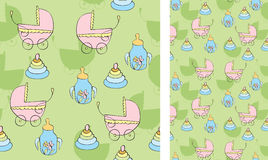 Background with children's things Royalty Free Stock Photo