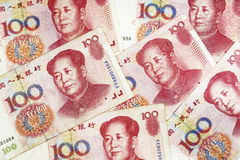 The background of Chinese money Stock Images