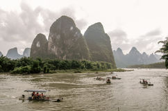 Background of Chinese 20 RMB. Photograph of a Chinese 20 renminbi yuan bill background in Guilin Stock Image