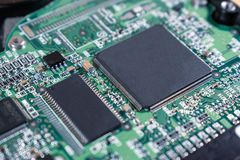 Background of chip and processor stock photos
