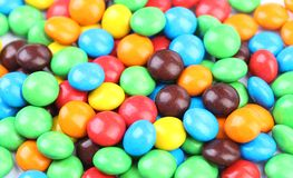 Background of chocolate balls Stock Photos