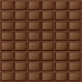 Background chocolate bar Stock Image