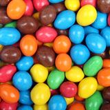 Background of chocolate candies Royalty Free Stock Photography