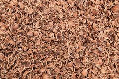 Background chocolate chips Royalty Free Stock Images