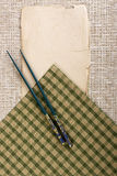 Background with chopsticks Royalty Free Stock Image