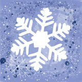 Background for Christmas. Christmas season background with snowflakes Royalty Free Stock Photos