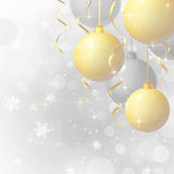 Background with Christmas balls Royalty Free Stock Photo