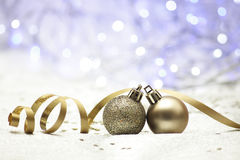 Background Christmas bauble Stock Photo