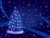 Background of Christmas cards. Royalty Free Stock Photography