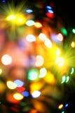 background christmas colorful lights Στοκ Εικόνα