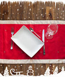 Background of Christmas Coupon Royalty Free Stock Photo
