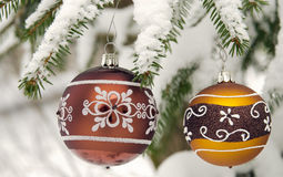 Background of Christmas decoration Royalty Free Stock Image