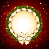 Background with Christmas decoration Stock Photography