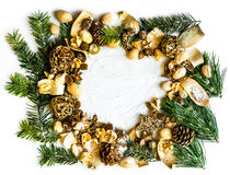 Background with Christmas decorations Royalty Free Stock Image