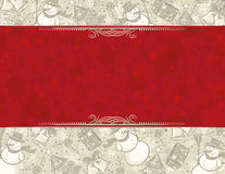 Background with christmas elements,  Stock Photos