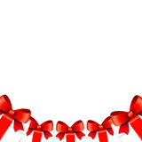 Background with Christmas gifts Stock Photography