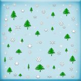 Background Christmas and Happy New year, winter concept.  royalty free illustration