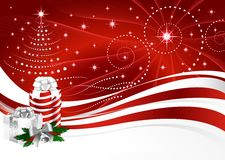 Background Christmas horizontal Stock Photo