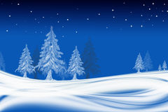 Background Christmas. Background, illustration for Christmas trees Royalty Free Stock Photos