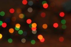 background christmas lights στοκ εικόνες