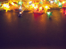 Background with Christmas lights Stock Photography