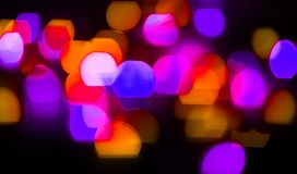 Background Christmas lights and garlands Royalty Free Stock Photography
