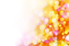 Background of Christmas lights Stock Images