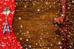 Background, Christmas menu. Royalty Free Stock Images