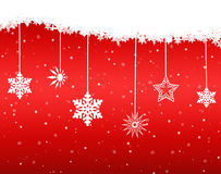 Background Christmas (New Year) card . Stock Image