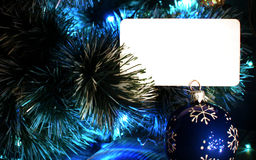 Background for Christmas and new year greetings Royalty Free Stock Photos