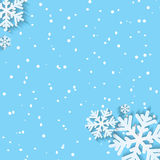 Background for Christmas and New Year Stock Image