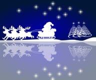background christmas night Στοκ εικόνα με δικαίωμα ελεύθερης χρήσης