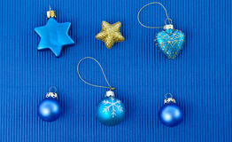 Background with christmas ornaments Royalty Free Stock Photo