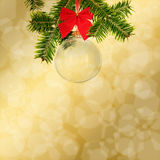 Background for christmas or other holiday congratulations Stock Image
