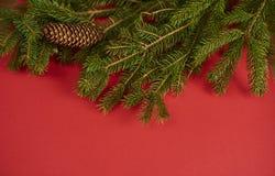 background christmas red tree Πρότυπο σχεδίου Στοκ φωτογραφία με δικαίωμα ελεύθερης χρήσης