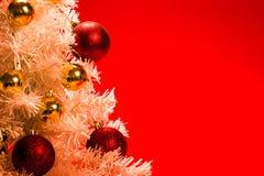 background christmas red tree Στοκ Φωτογραφίες